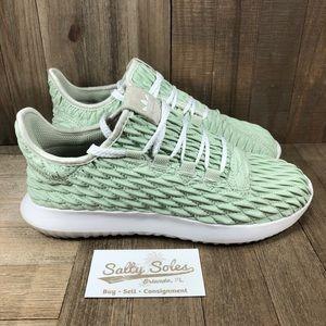 Adidas Tubular Shadow 'Linen Green' Womens 8.5